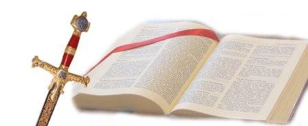 Logo Schwert mit Bibel