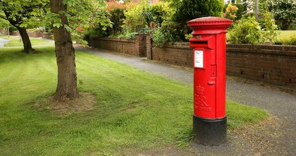 """Red Letter Box"""